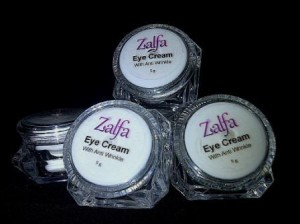 zalfa miracle eye cream with anti wrinkle